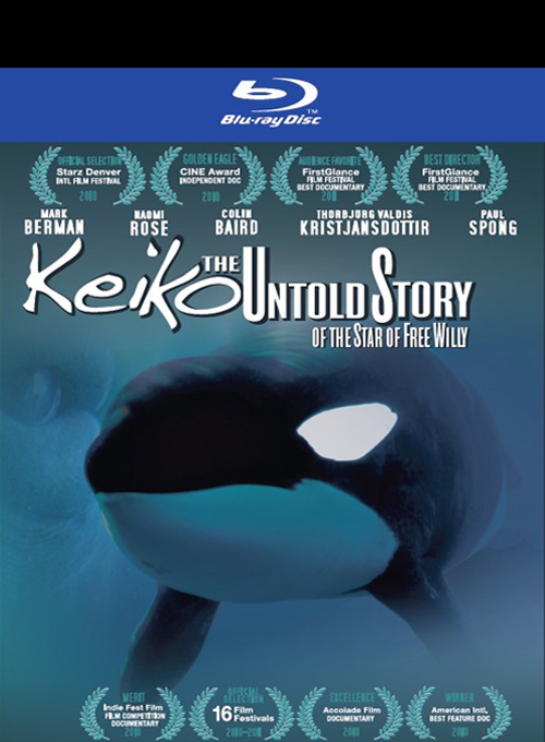 Keiko the Untold Story Blu-Ray Disc