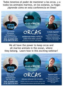 webinar for children about orcas
