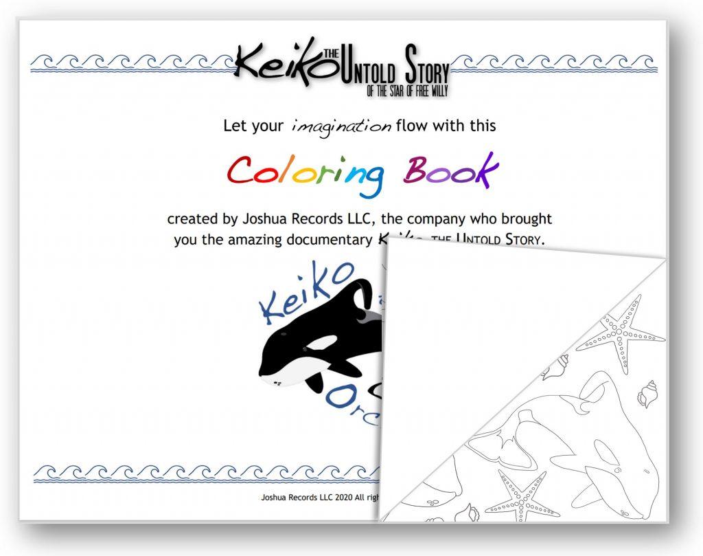 Keiko Coloring Book
