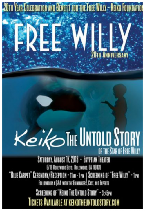 Free Willy 20th Anniversary Event